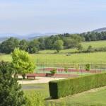 Terrains de tennis et de boules